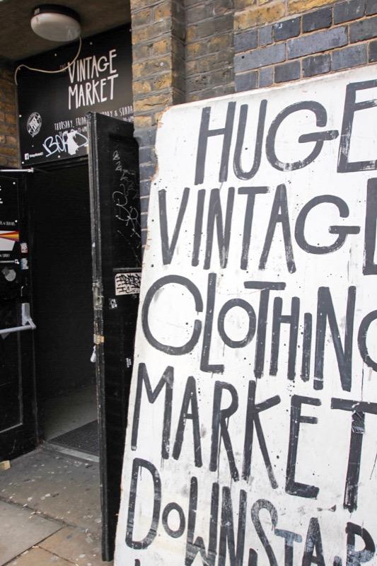 Een hele grote vintage markt dus.