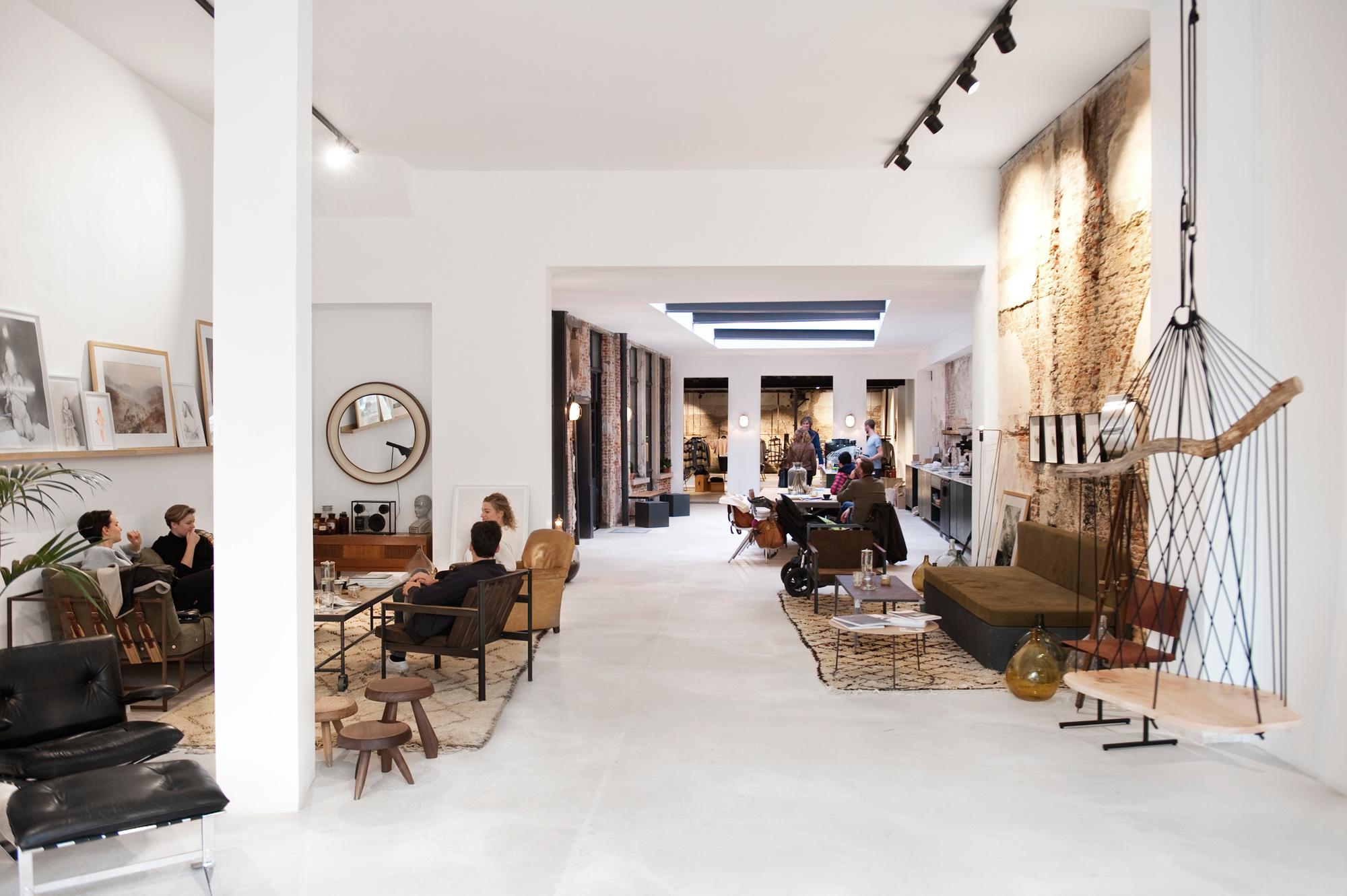 In het prachtige St. Vincents in Antwerpen vind je vanaf eind maart ook een shop-in-shop van Misc.