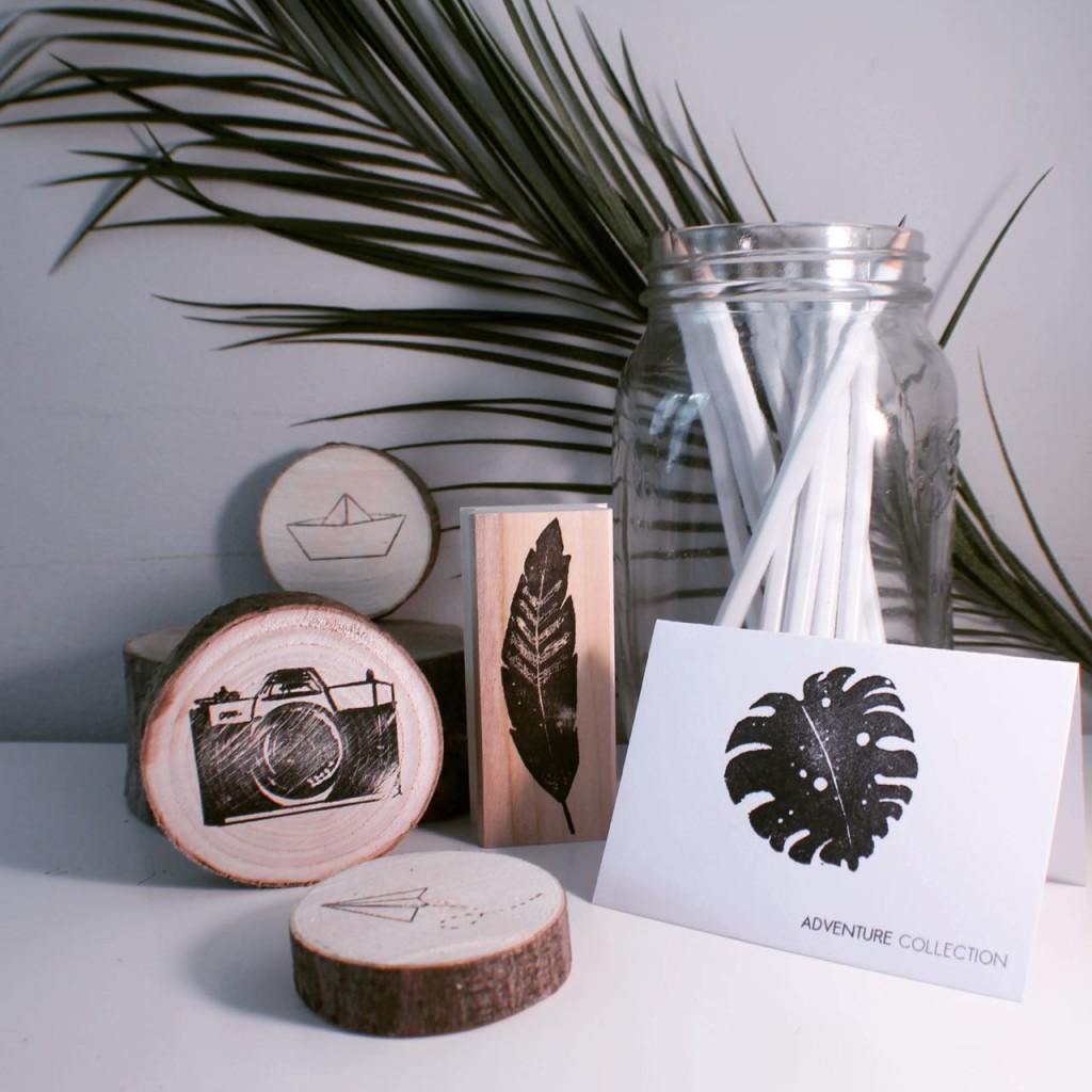 urban wood stamps brainy days