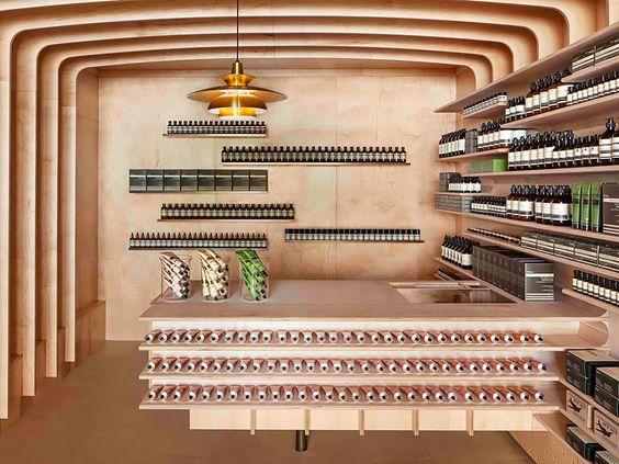Wegdromen bij de inspirerende storedesigns van Aesop in New York, Milaan en Parijs