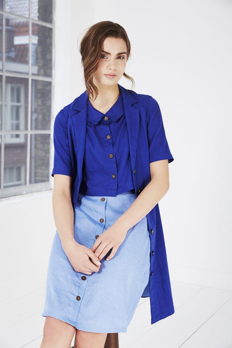 Dit label stelt dertig outfits samen van zes items