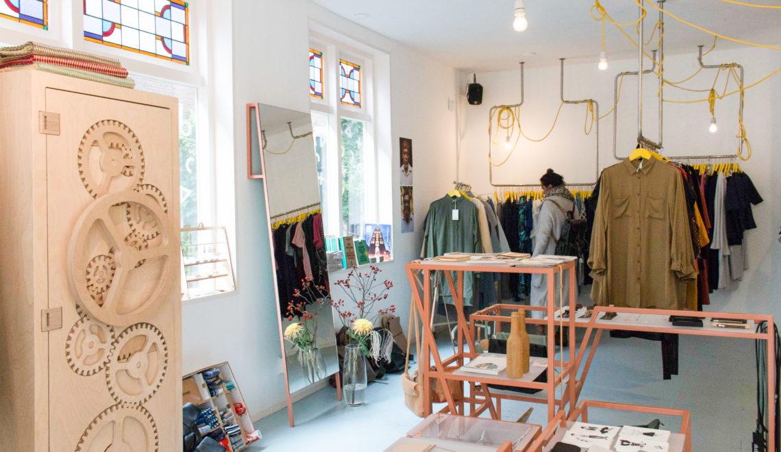 Dit zijn de winkels die we bezochten in de Schouten- en Voorstraat