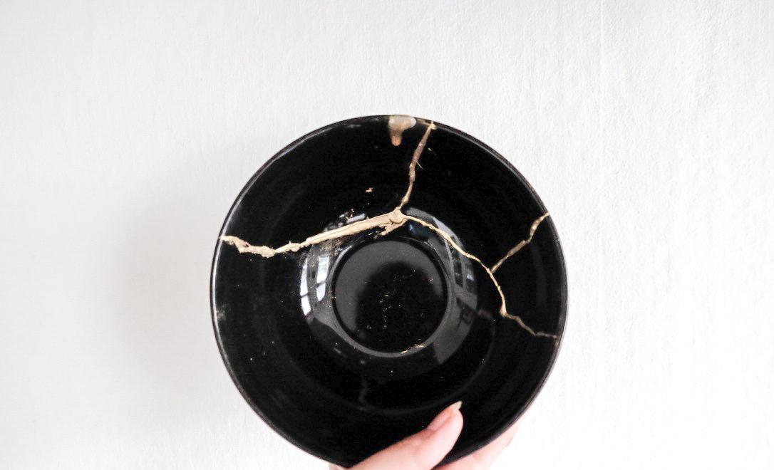 Hergebruik gebroken servies met deze oude Japanse techniek