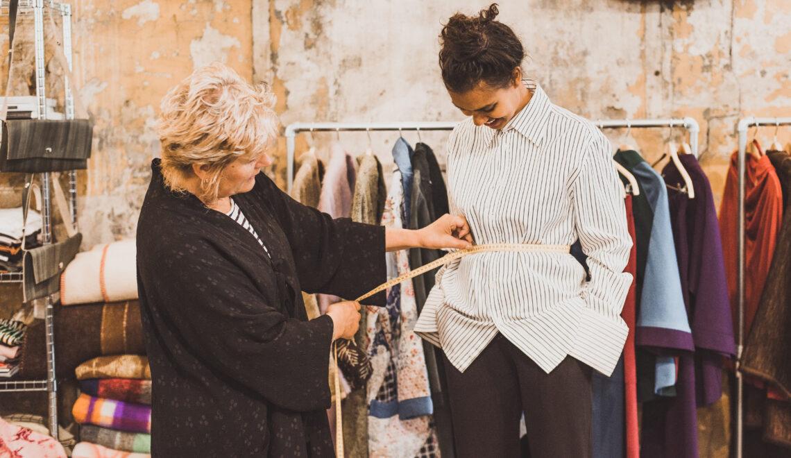 Bij Mirk in Utrecht vind je betaalbare handgemaakte duurzame kleding